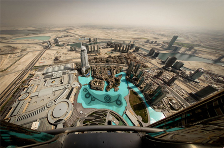 """Picture: """"Dubai from Above"""" by Tom Olliver"""