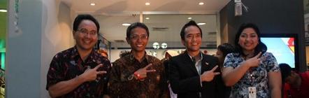 Kompas Representatives with the Mayor of KidZania Jakarta