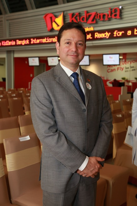 Mr. Andrés Fabre, KidZania Minister of State