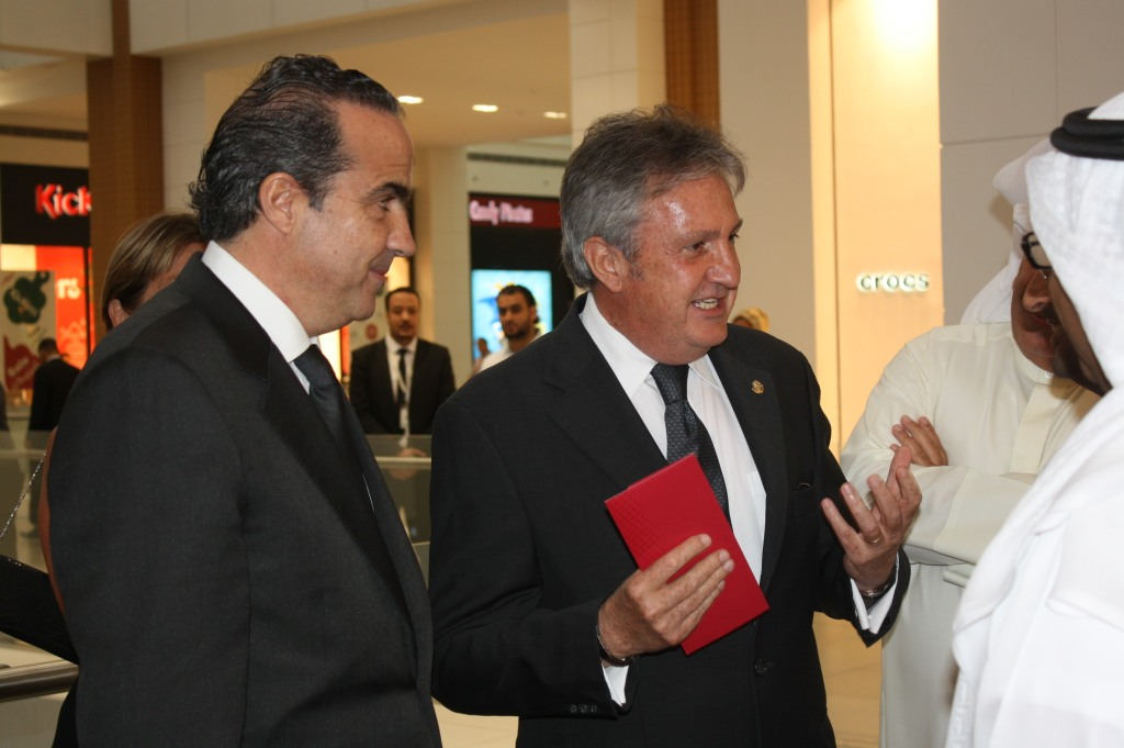 Mr. Xavier López -President and founder of KidZania- and H.E. Mr. Luis Alberto Barrero Stahl -Ambassador of Mexico to Kuwait.
