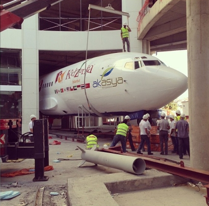 KidZania Istanbul Airplane Arrival