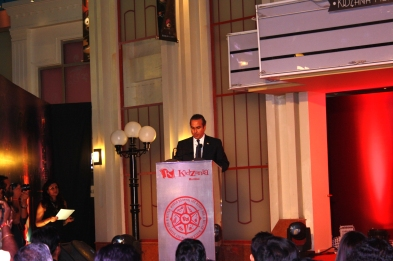 Mr. Xavier López, President of KidZania, during the inaugural speech of KidZania Mumbai.