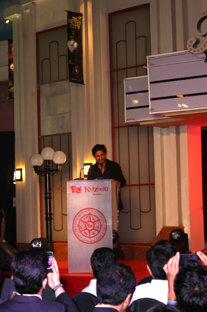 "During his inaugural speech, SRK said: ""I'm elated to see KidZania open in India and proud to be part of such an empowering concept. It is my belief that KidZania will be the new destination for Indian parents to send their kids to learn and have fun together. India is ready for an edutainment concept like KidZania and I'm hopeful that it will provide new opportunities to the kids to shape their future."