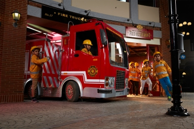 KZ Mumbai_Kids role-playing as Fire Fighters