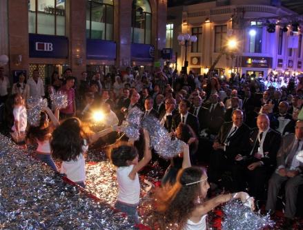 VIP guests enjoying the Founding Ceremony of KidZania Cairo