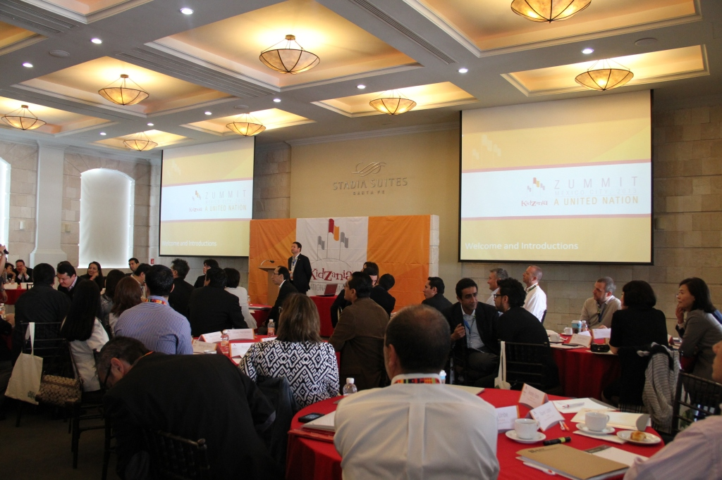 General view of day 1 meetings