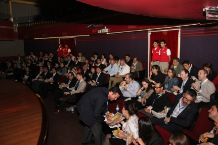 After a day of meetings and presentations, guests were taken to KidZania Santa Fe's Theater for a special surprise