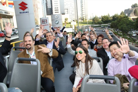 Our visitors also had the opportunity to discover Mexico City on board an official city tour bus