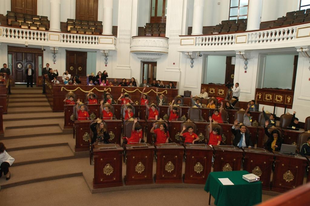 KidZania CongreZZ kids during their session.