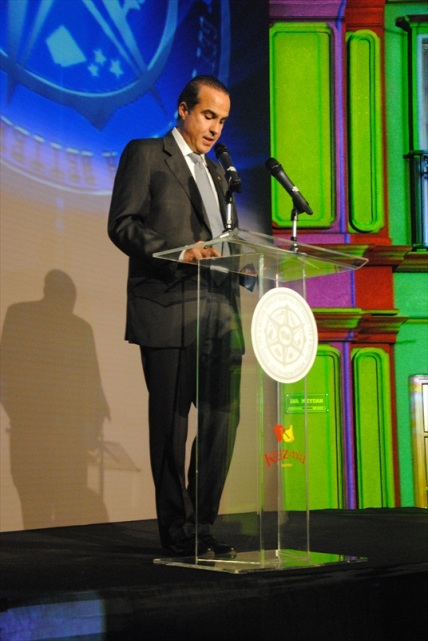 Mr. Xavier López -President of KidZania- during his speech