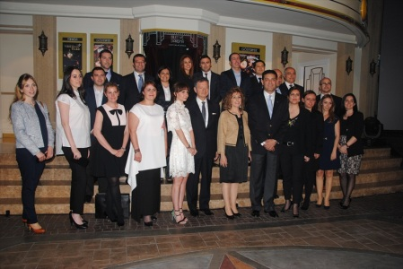 Representatives of the 28 industry partners and 1 co-sponsor of KidZania Istanbul.