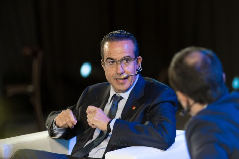 """Mr. Xavier López -President of KidZania- was one of the main keynote speakers at the """"Leaders of the Future - 2014"""" Seminar in Santiago, Chile"""