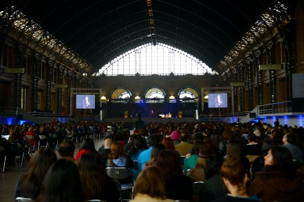 """The Mapocho Station Cultural Center in Santiago was the venue where over 2,000 Latin American education specialists gathered together for the first Latin American Education Seminar """"Leaders of the Future - 2014"""""""
