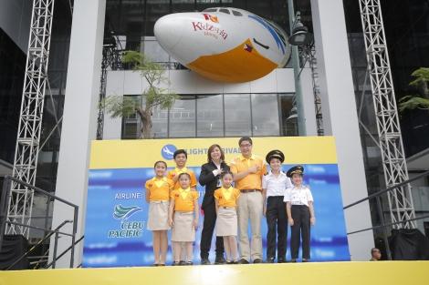 Cebu Pacific Air lands in KidZania Manila