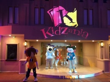 KidZania's RightZKeepers during their performance at the Foundation Ceremony of KidZania Jeddah