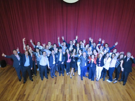 The KidZania Sao Paulo management team