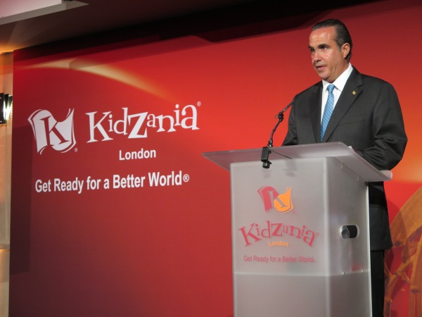 Mr. Xavier López Ancona, President of KidZania