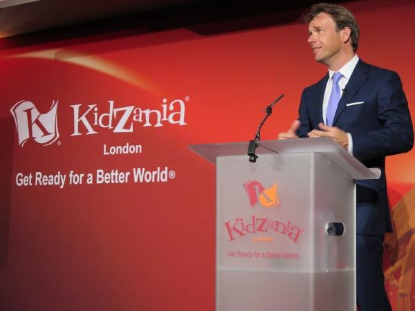 Mr. Joel Cadbury, co-founder of KidZania London.