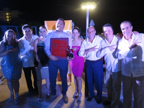 From left to right: Ms. Maricruz Arrubarrena -Minister of Industry, KidZania Mexico-, Mr. Luis Tapia -City Mayor, KidZania Monterrey-, Ms. Adriana Torres -Minister of Communications, KidZania Mexico-, Mr. Miguel Aguirre -City Mayor, KidZania Cuicuilco-, Ms. Liliana Sánchez -City Mayor, KidZania Santa Fe-, Mr. Hernán Barbieri -Governor, Mexico-, Mr. Miguel Aguirre -Minister of Experience, KidZania Mexico-, and Mr. Xavier López Ancona -President, KidZania.