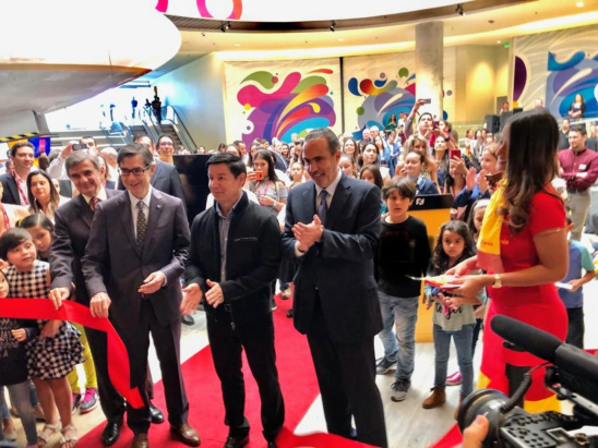 Ribbon Cutting KidZania Costa Rica